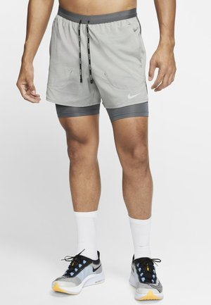 kurze Sporthose - iron grey/iron grey/heather