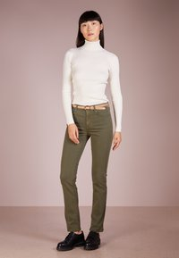 Lauren Ralph Lauren - TURTLE NECK - Jumper - mascarpone cream - 1