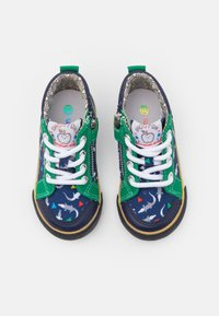 Shoo Pom - ZIP BASKET - Baby shoes - blue/green - 3