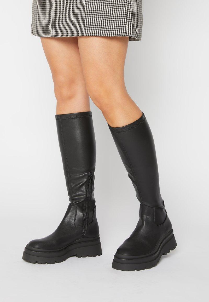 ALDO - MAJORR - Platform boots - other black