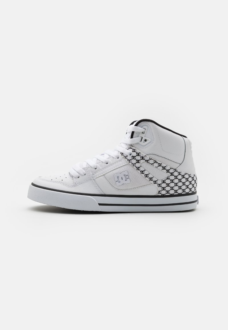 DC Shoes - PURE - High-top trainers - white/black