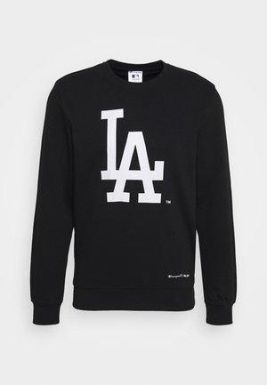 MLB LA DODGERS CREWNECK - Klubové oblečení - dark blue