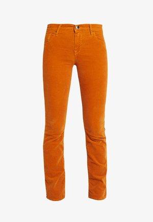 VIVY - Straight leg jeans - cognac
