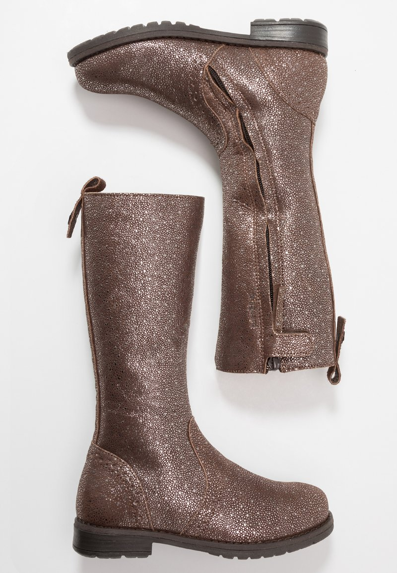 Bisgaard - HIGH - Zimní obuv - brown