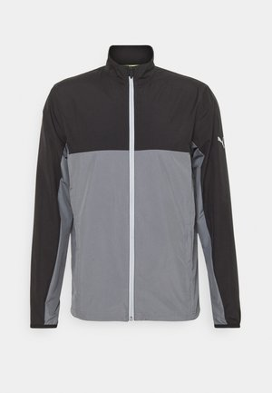 FIRST MILE WIND JACKET - Sportovní bunda - black/quiet shade