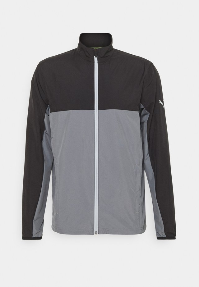 FIRST MILE WIND JACKET - Giacca sportiva - black/quiet shade