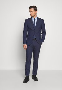 Selected Homme - SLHSLIM MYLOLOGAN SUIT SET - Traje - blue - 1