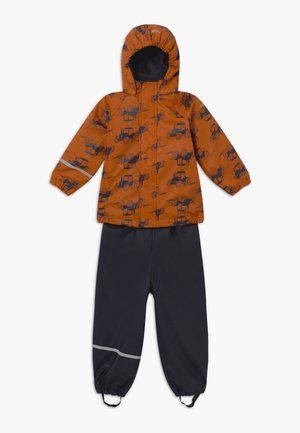 RAINWEAR SET - Pantalones impermeables - pumpkin spice