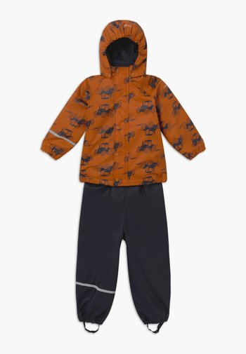RAINWEAR SET - Kalhoty do deště - pumpkin spice