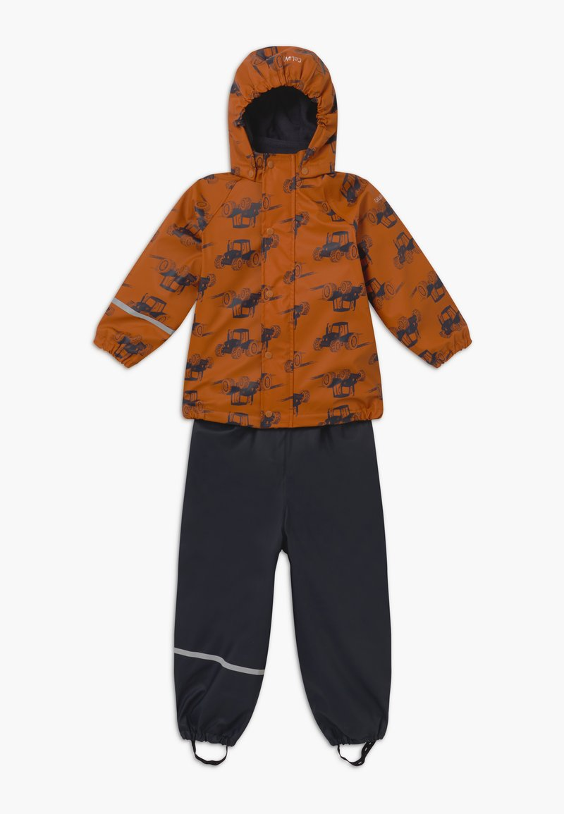 CeLaVi - RAINWEAR SET - Pantalones impermeables - pumpkin spice