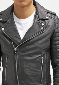 Serge Pariente - HIPSTER  - Leather jacket - noir - 4