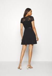 Morgan - ROMALO - Vestido de cóctel - noir - 2
