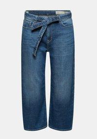 Esprit - Straight leg jeans - blue dark washed - 9