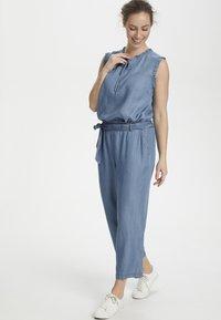 Cream - SUNACR  - Kalhoty - denim blue - 1