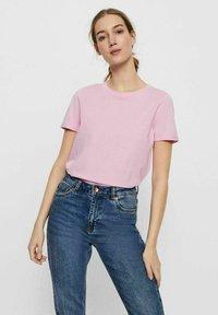 Vero Moda - PAULA  - Camiseta básica - pastel lavender - 0