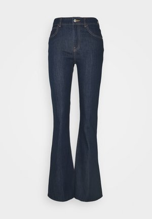 POCKETS PANT - Flared Jeans - denim blu