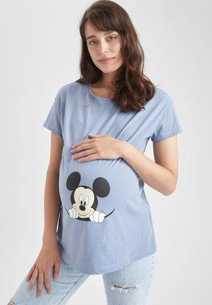 MICKEY & MINNIE (STANDARD CHARACTERS) REGULAR FIT - T-shirt imprimé - blue