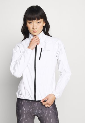 DROP JACKET - Hardshelljacke - white