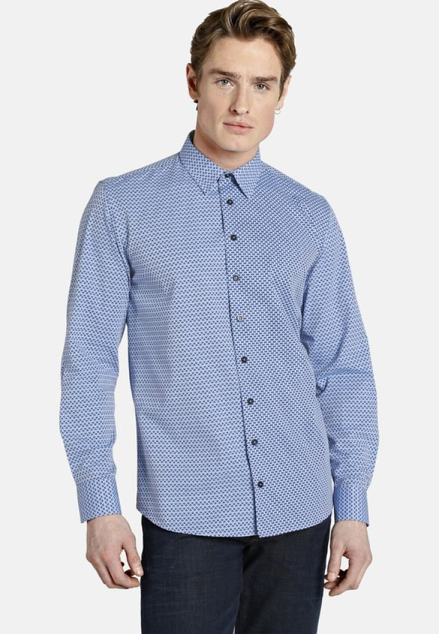PATTERNS - Shirt - blue