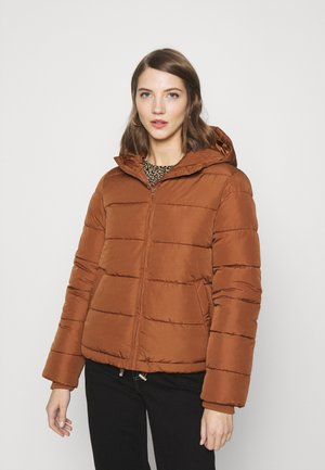 PCBEE SHORT JACKET - Winter jacket - brown