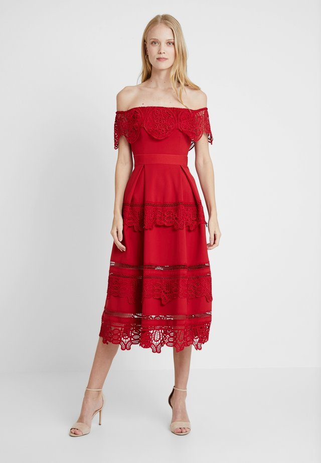 OTHELIA DRESS - Occasion wear - red
