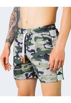 Shorts da mare - olive green