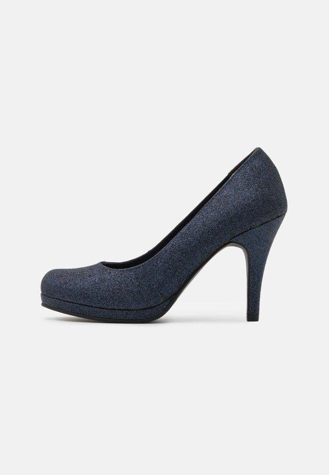 COURT SHOE - High heels - navy glam