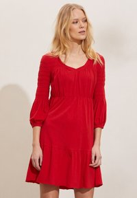 Odd Molly - GLORIA - Jersey dress - cherry red - 0