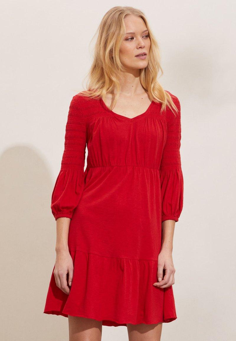 Odd Molly - GLORIA - Jersey dress - cherry red