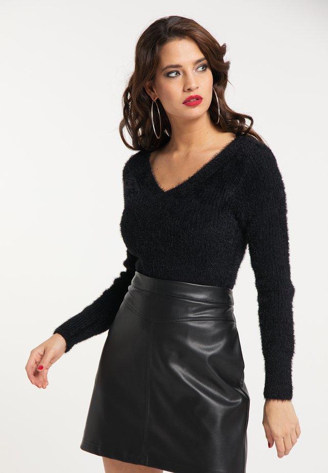 Sweter - schwarz