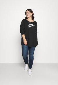 Nike Sportswear - Long sleeved top - black - 1