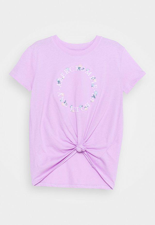 TECH CORE - T-Shirt print - purple
