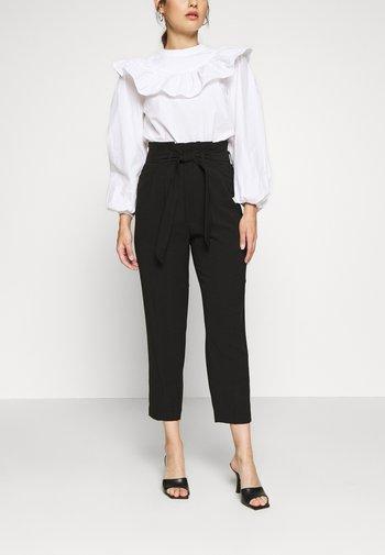 ONLSURI AINA PANTS - Trousers - black