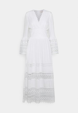 RAISON DRESS - Maksimekko - white