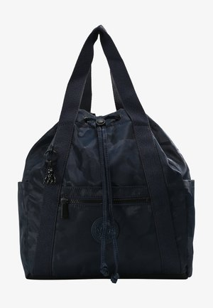 ART BACKPACK S - Rucksack - satin camo blue