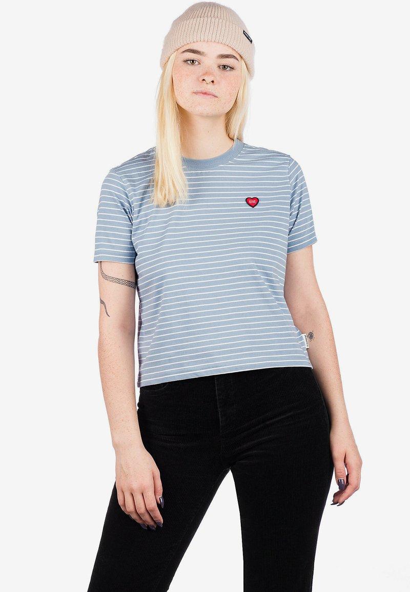 Element - Print T-shirt - faded denim