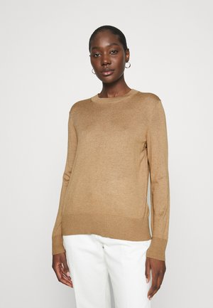 EASY CREW SOLIDS - Jumper - camel