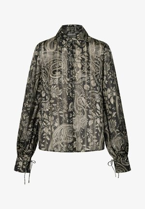 MIT PAISLEY-MUSTER - Blouse - schwarz