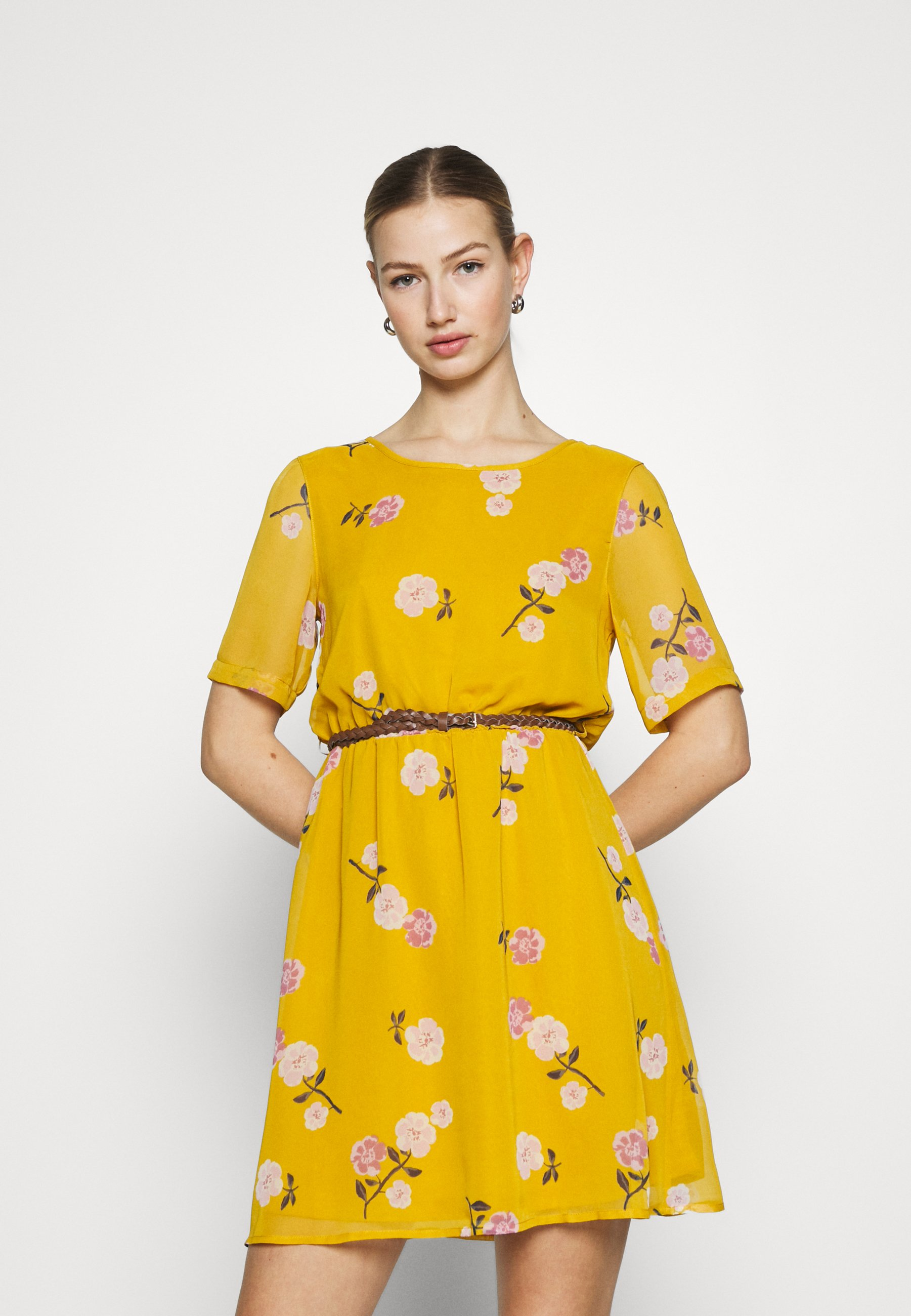 Women VMFALLIE BELT DRESS - Day dress
