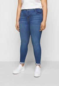 Levi's® Plus - 720 HIRISE SUPER SKINNY - Jeans Skinny Fit - eclipse craze plus - 0