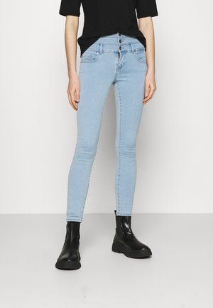 ONLROYAL LIFE CORSAGE - Jeans Skinny Fit - light blue denim