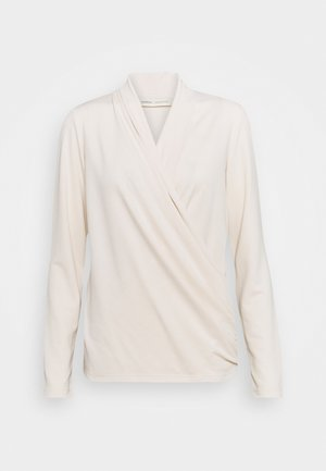 ALANOIW WRAP  - Long sleeved top - french nougat