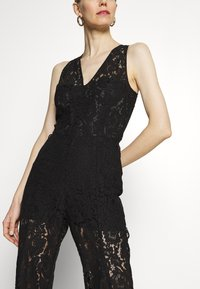 Guess - RACHAEL OVERALL - Jumpsuit - jet black - 4