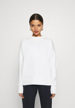 SLFKISA CREW NECK  - Jumper - snow white