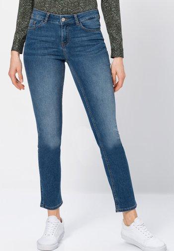 Seattle Slim Fit - Slim fit jeans - mid blue stone wash