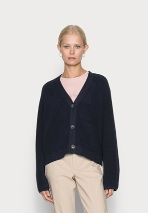 LONG SLEEVE CARDIGAN WITH BUTTONS - Cardigan - deep dive