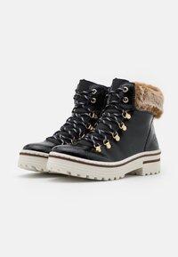 Rieker - Winter boots - black/steppe - 2