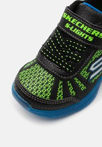 Skechers - MAGNA LIGHTS - Trainers - black/lime/royal - 5