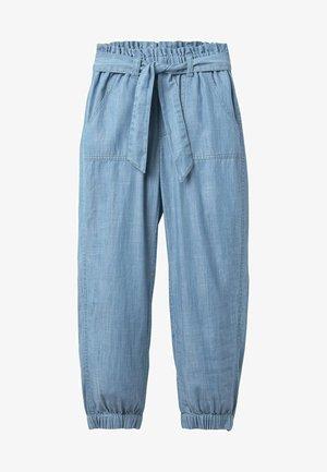Trousers - faux-uni