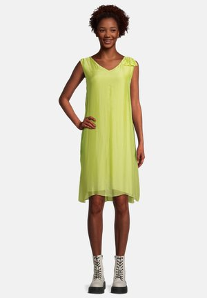 Day dress - celery green